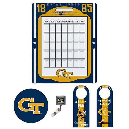 Georgia Tech Yellow Jackets Dorm Room Pack