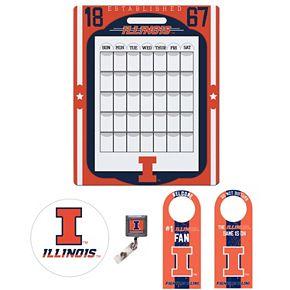 Illinois Fighting Illini Dorm Room Pack