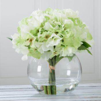 Pure Garden Artificial Hydrangea Flower Arrangement