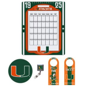 Miami Hurricanes Dorm Room Pack