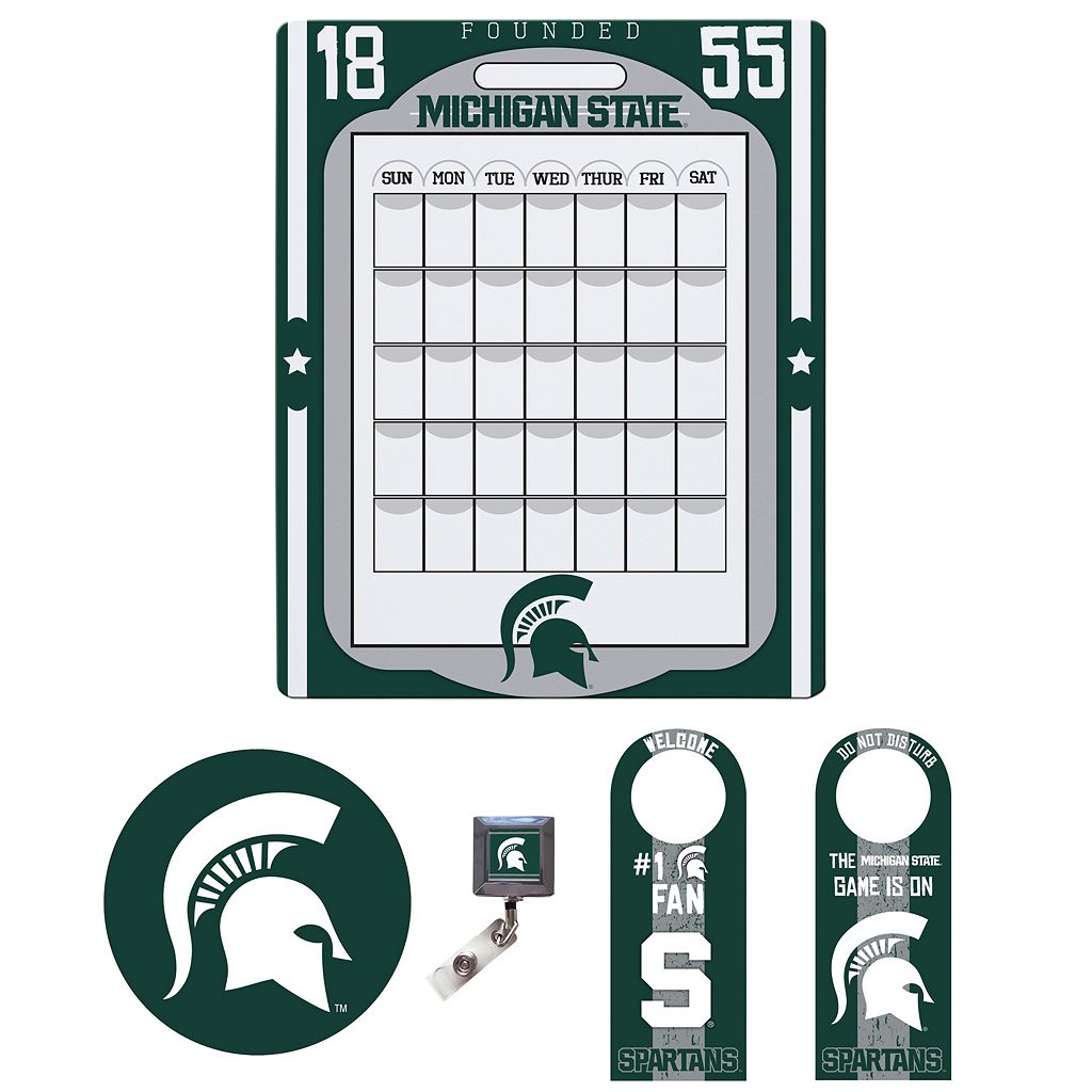 Michigan State Spartans Dorm Room Pack