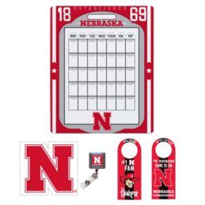 Nebraska Cornhuskers Dorm Room Pack