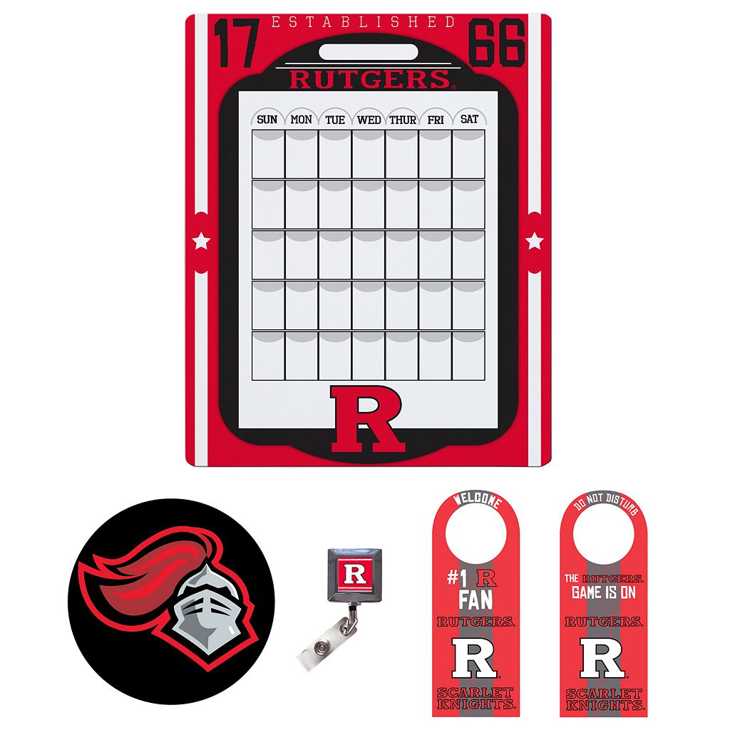 Rutgers Scarlet Knights Dorm Room Pack