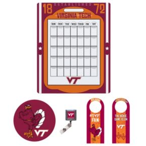 Virginia Tech Hokies Dorm Room Pack