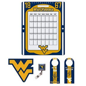 West Virginia Mountaineers Dorm Room Pack