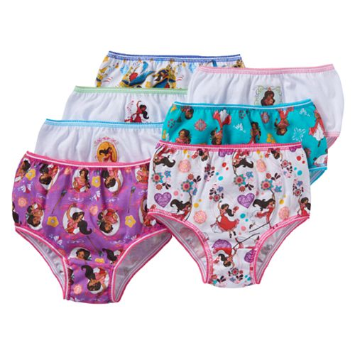 Disney Girls Elena of Avalor Knickers Briefs Pack of 3