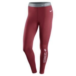 Women's Nike Oklahoma Sooners Hyperwarm Tights