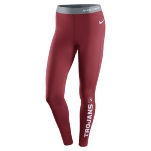 Women's Nike USC Trojans Hyperwarm Tights