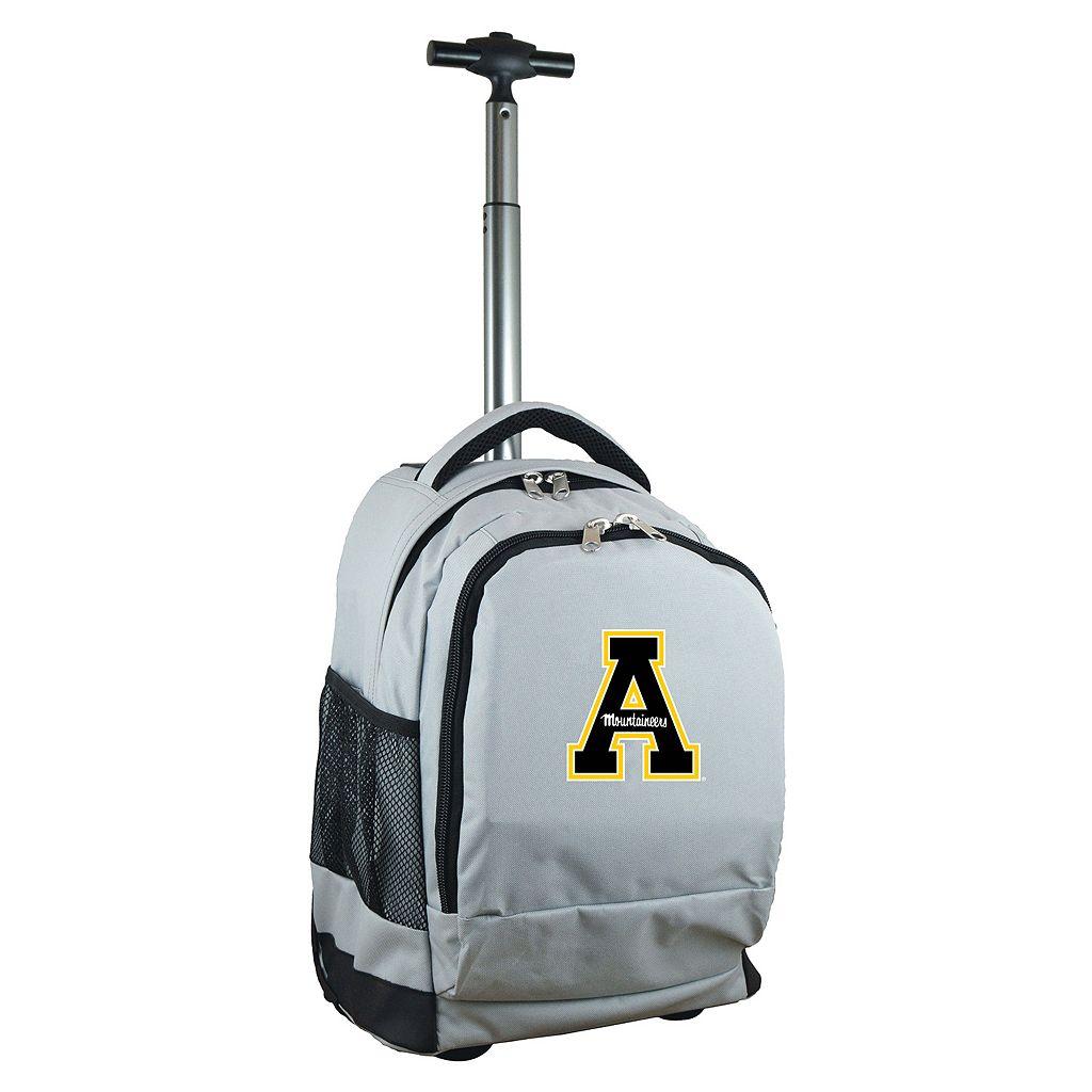 Appalachian State Mountaineers Premium Wheeled Backpack
