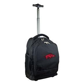 Arkansas Razorbacks Premium Wheeled Backpack
