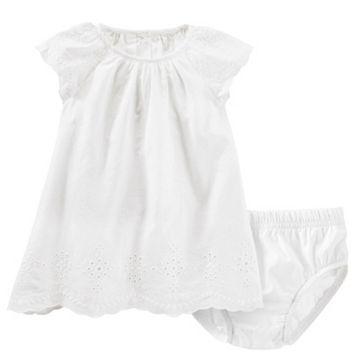 Baby Girl OshKosh B'gosh® Eyelet Swing Dress