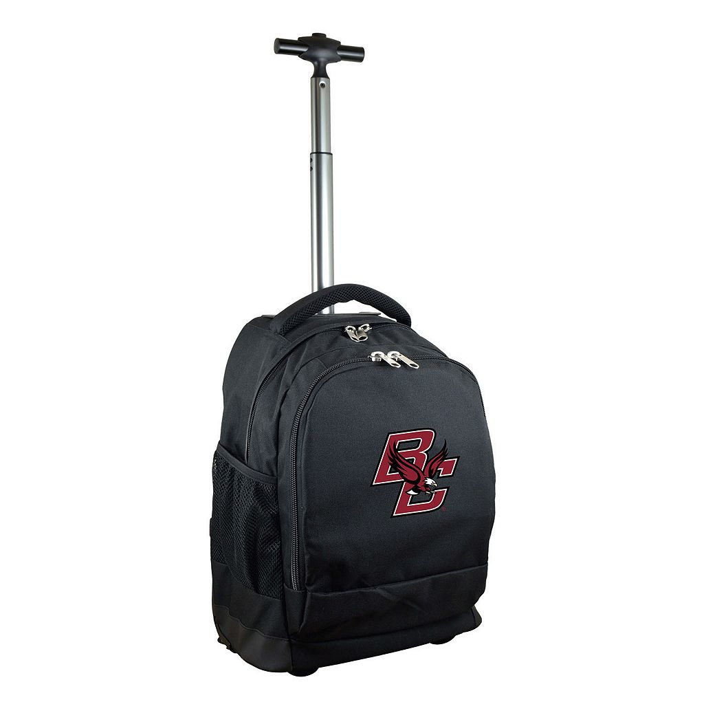Boston College Eagles Premium Wheeled Backpack