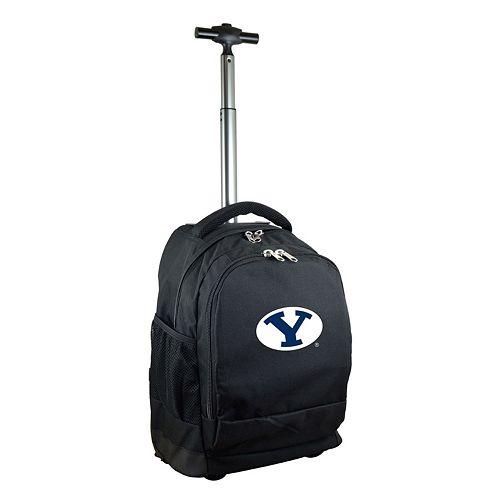 BYU Cougars Premium Wheeled Backpack