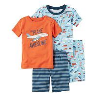 Boys 4-8 Carter's Airplane 4-Piece Pajama Set
