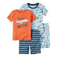 Boys 4-8 Carter's Airplane 4-Piece Pajama Set