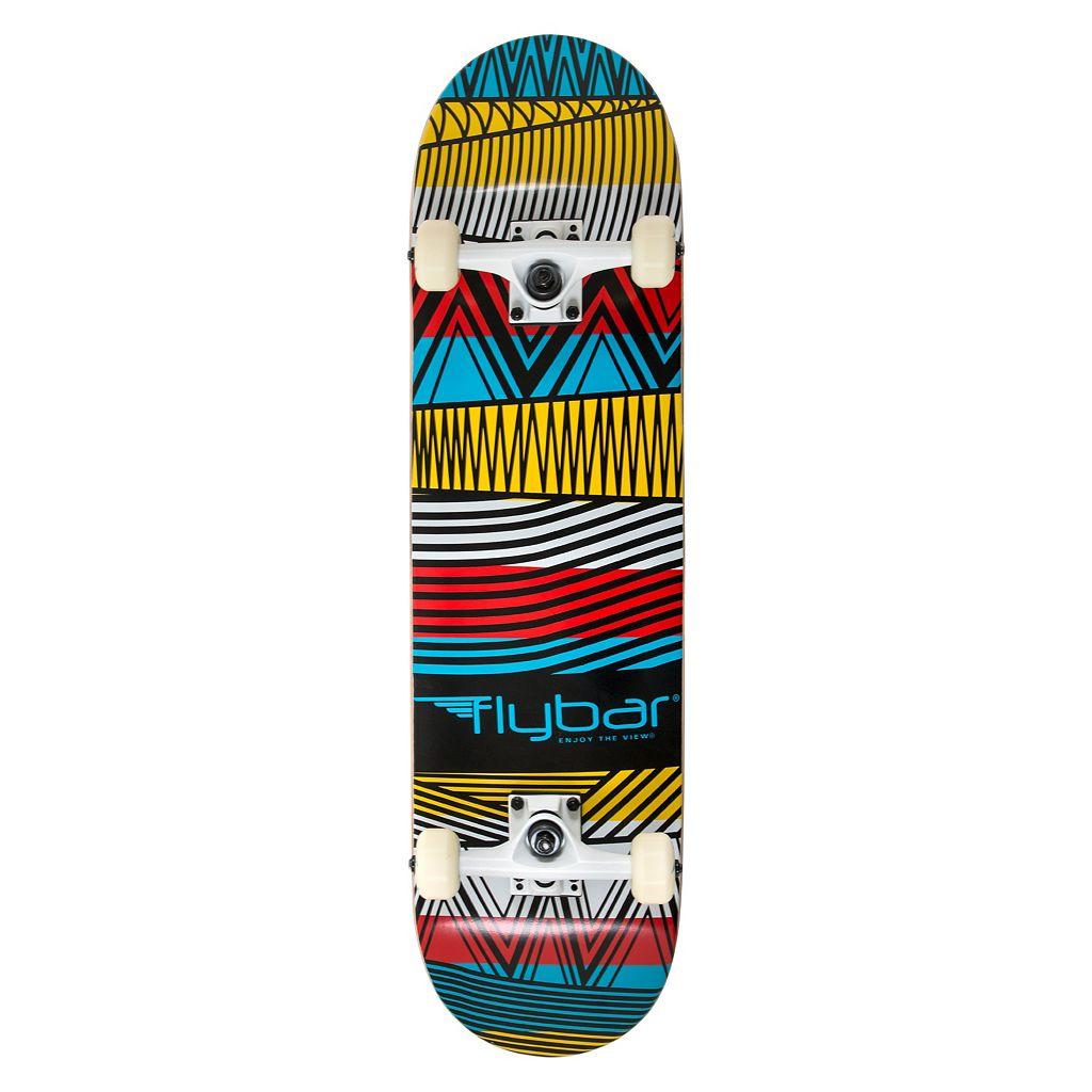 Flybar 31-Inch Tribal Double Kick Skateboard
