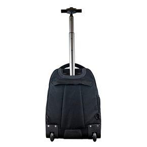 UConn Huskies Premium Wheeled Backpack