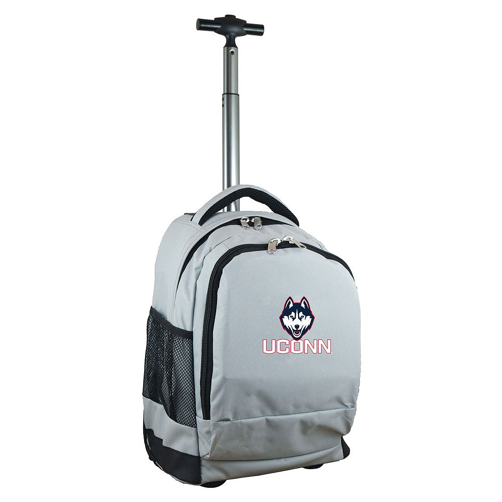 UConn Huskies Premium Wheeled Backpack