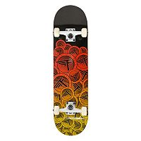 Flybar 31-Inch Stickers Double Kick Skateboard