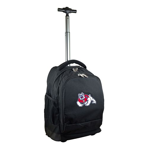 Fresno State Bulldogs Premium Wheeled Backpack