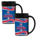 Chicago Cubs 2016 World Series Champions Mug Set