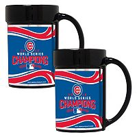 Chicago Cubs 2016 World Series Champions Mug Set