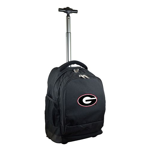 Georgia Bulldogs Premium Wheeled Backpack