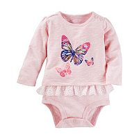 Baby Girl OshKosh B'gosh® Butterfly Eyelet Bodysuit