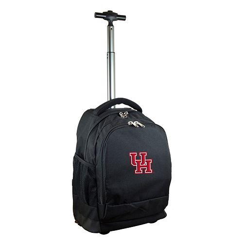 Houston Cougars Premium Wheeled Backpack