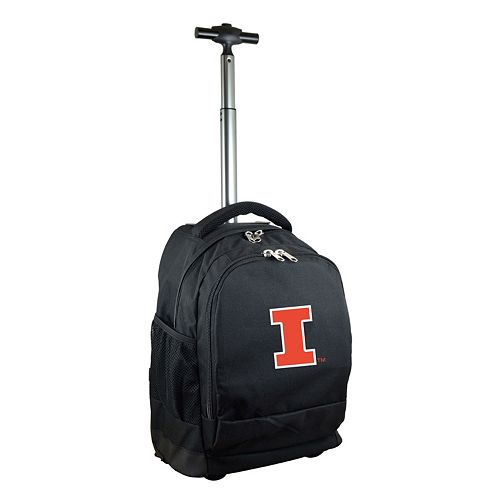 Illinois Fighting Illini Premium Wheeled Backpack