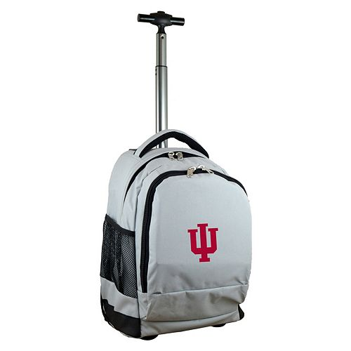 Indiana Hoosiers Premium Wheeled Backpack