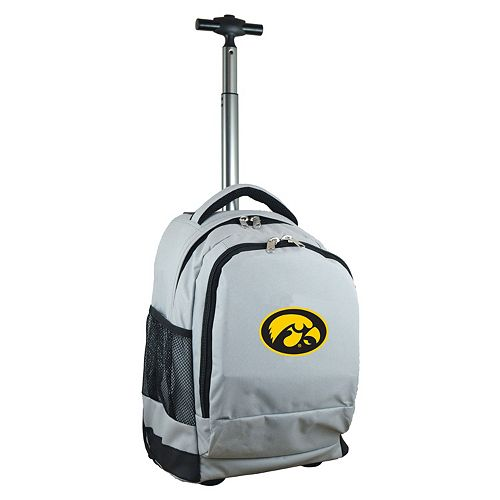 Iowa Hawkeyes Premium Wheeled Backpack