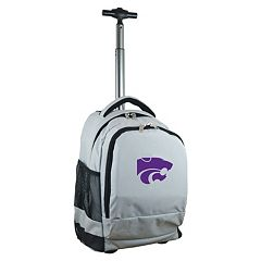 Kansas State Wildcats Premium Wheeled Backpack