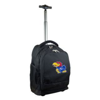 Kansas Jayhawks Premium Wheeled Backpack