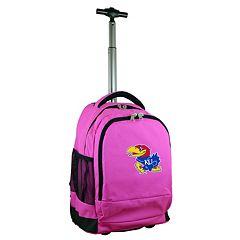 Kansas Jayhawks Premium Wheeled Backpack