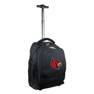 Louisville Cardinals Premium Wheeled Backpack