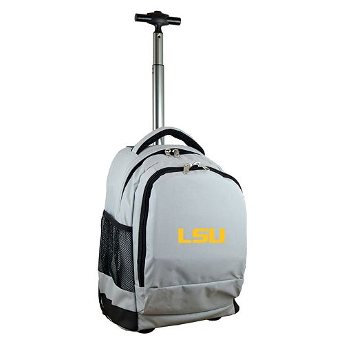 LSU Tigers Premium Wheeled Backpack