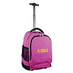 LSU Tigers Premium Wheeled Backpack