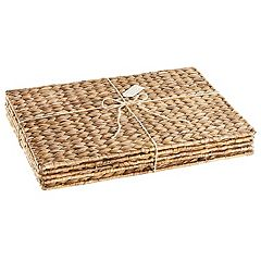 Artland 4-pc. Garden Terrace Sea Grass Placemat Set