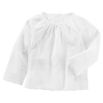 Baby Girl OshKosh B'gosh® Eyelet Top