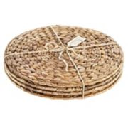 Artland 4-pc. Garden Terrace Sea Grass Charger Set