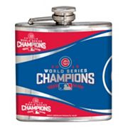 Chicago Cubs 2016 World Series Champions Stainless Steel Flask