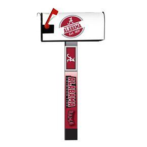 Alabama Crimson Tide 2-Pack Magnetic Mailbox Post Cover