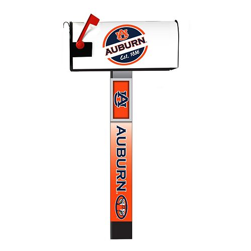 Auburn Tigers 2-Pack Magnetic Mailbox Post Cover