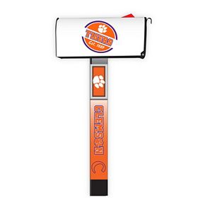 Clemson Tigers 2-Pack Magnetic Mailbox Post Cover