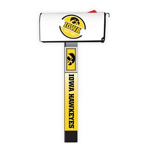 Iowa Hawkeyes 2-Pack Magnetic Mailbox Post Cover