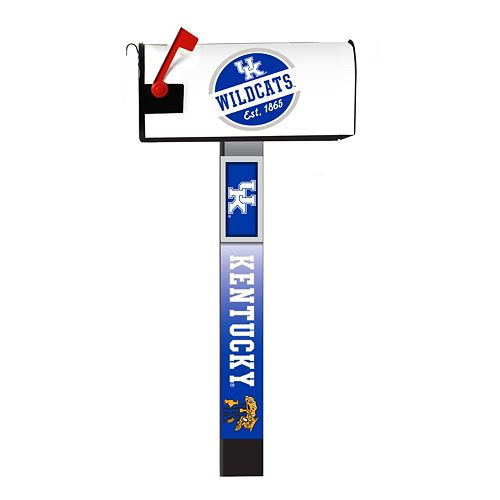 Kentucky Wildcats 2-Pack Magnetic Mailbox Post Cover
