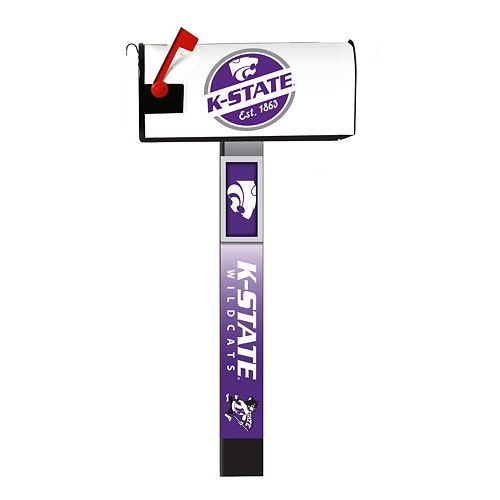 Kansas State Wildcats 2-Pack Magnetic Mailbox Post Cover