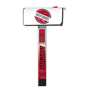 Louisville Cardinals 2-Pack Magnetic Mailbox Post Cover