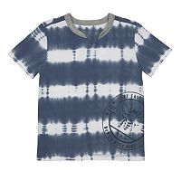 Toddler Boy Burt's Bees Baby Bee Logo Tie Dye V-Neck Tee